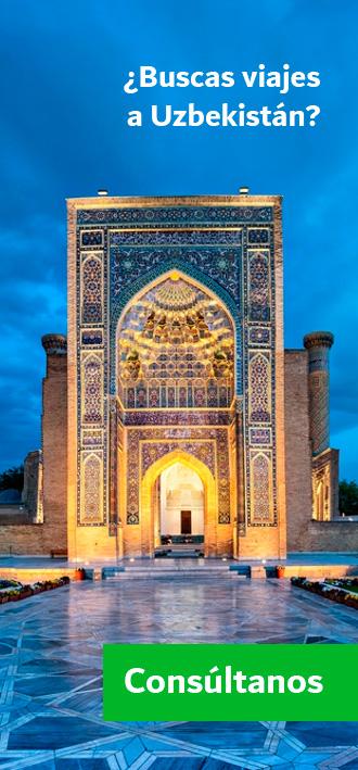 Buscas viajes a Uzbekistán